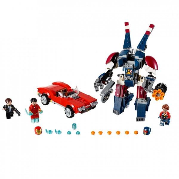 Конструктор Lego 76077 Super Heroes Лего Супер Герои Железный человек Стальной Детройт наносит удар