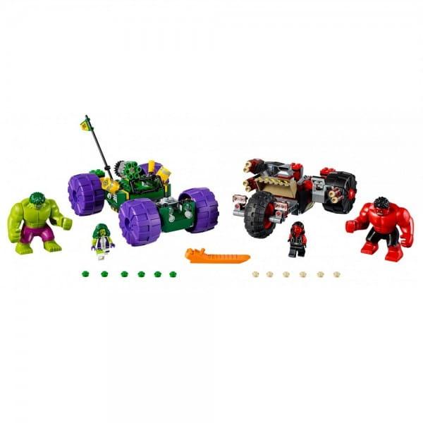 Конструктор Lego 76078 Super Heroes Лего Супер Герои Халк против Красного Халка