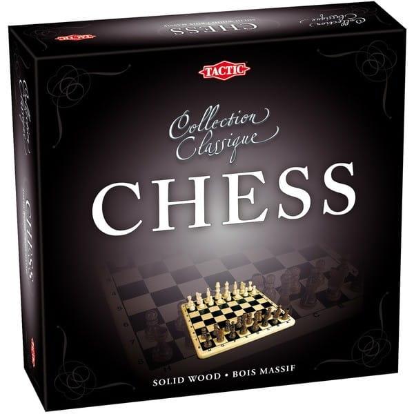 Купить Настольная игра Tactic Шахматы (коллекционная серия) в интернет магазине игрушек и детских товаров