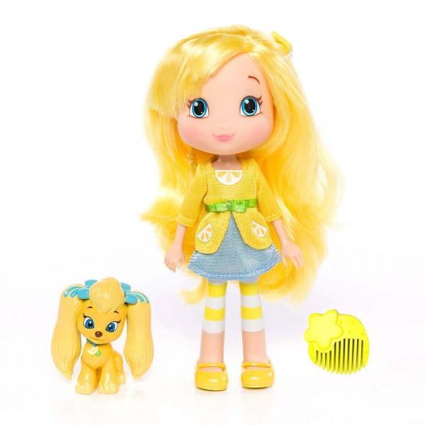 Кукла Strawberry Shortcake Шарлотта Земляничка - Лимона с питомцем 15 см