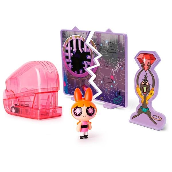 Игровой набор Powerpuff Girls 22316 Суперкрошка в машинке - Цветик