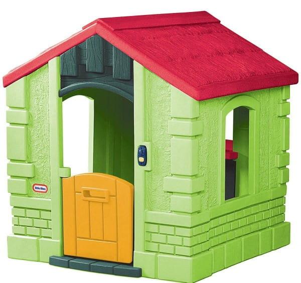 Игровой домик Little Tikes 172601 Зеленый со звонком