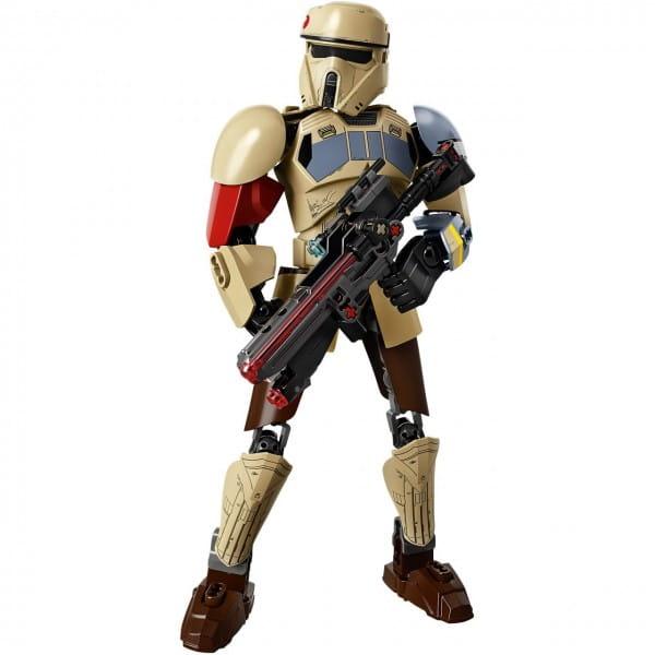 Конструктор Lego 75523 Star Wars Лего Звездные войны Штурмовик со Скарифа
