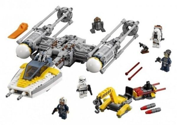 Конструктор Lego 75172 Star Wars Лего Звездные войны Звездный истребитель типа Y