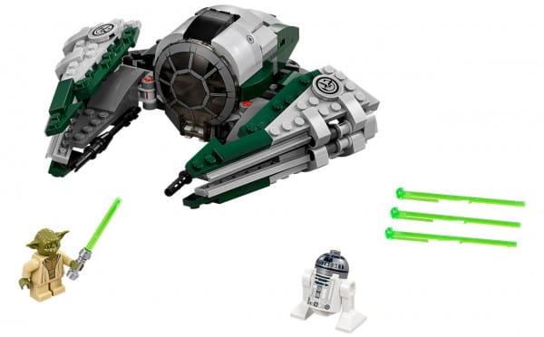 Конструктор Lego 75168 Star Wars Лего Звездные войны Звездный истребитель Йоды