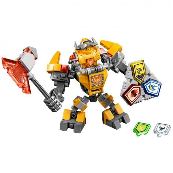 Конструктор Lego Nexo Knights Лего Нексо Боевые доспехи Акселя