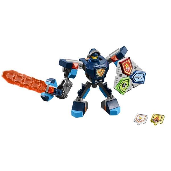 Конструктор Lego Nexo Knights Лего Нексо Боевые доспехи Клэя