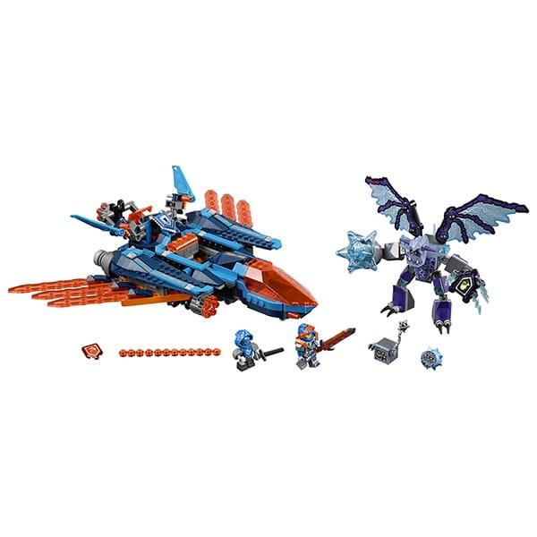 Конструктор Lego Nexo Knights Лего Нексо Самолет-истребитель Сокол Клэя