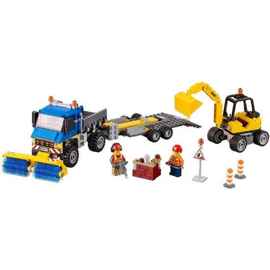 Конструктор Lego City Лего Город Уборочная техника