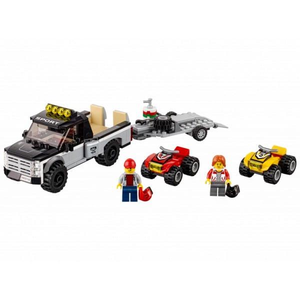Конструктор Lego City Лего Город Гоночная команда