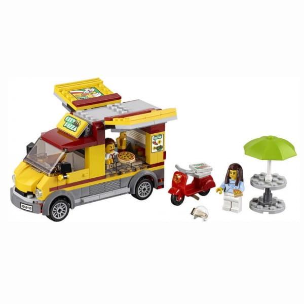 Конструктор Lego City Лего Город Фургон-пиццерия