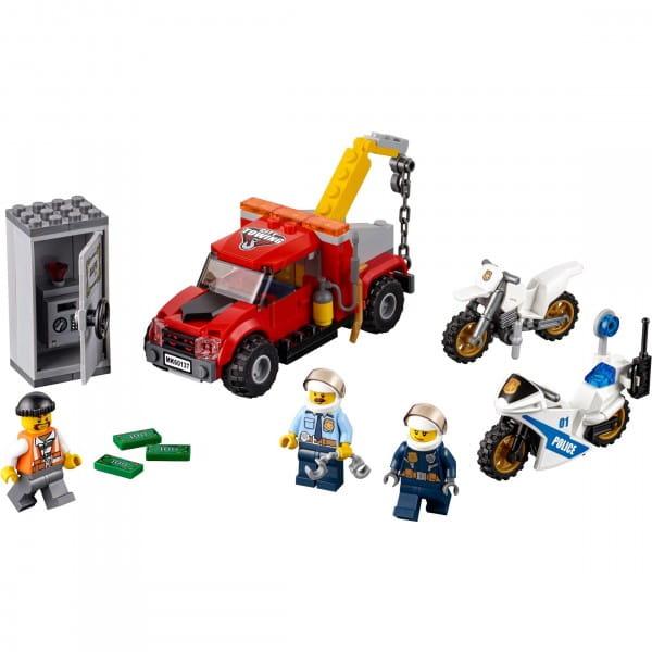 Конструктор Lego City Лего Город Побег на буксировщике