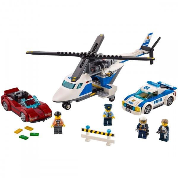 Конструктор Lego City Лего Город Стремительная погоня