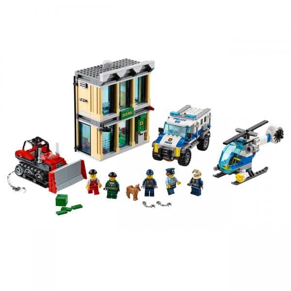 Конструктор LEGO City Лего Город Ограбление на бульдозере
