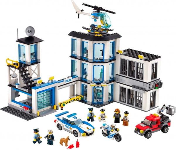 Конструктор Lego City Лего Город Полицейский участок обновленный