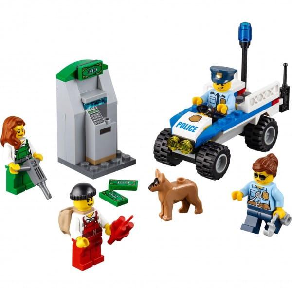 Конструктор Lego 60136 City Лего Город Набор для начинающих - Полиция