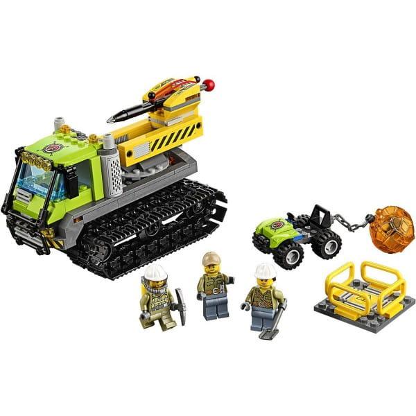 Конструктор Lego City Лего Город Вездеход исследователей вулканов