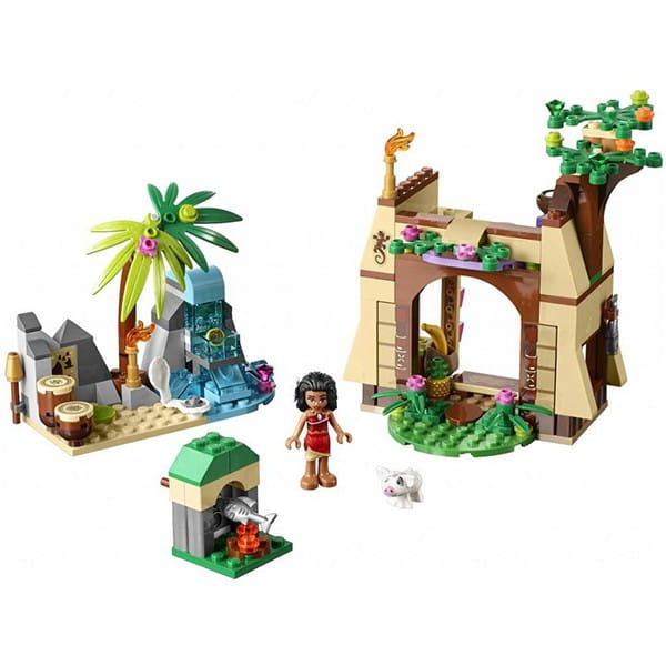 Конструктор Lego Disney Princesses Лего Принцессы Приключения Моаны на затерянном острове