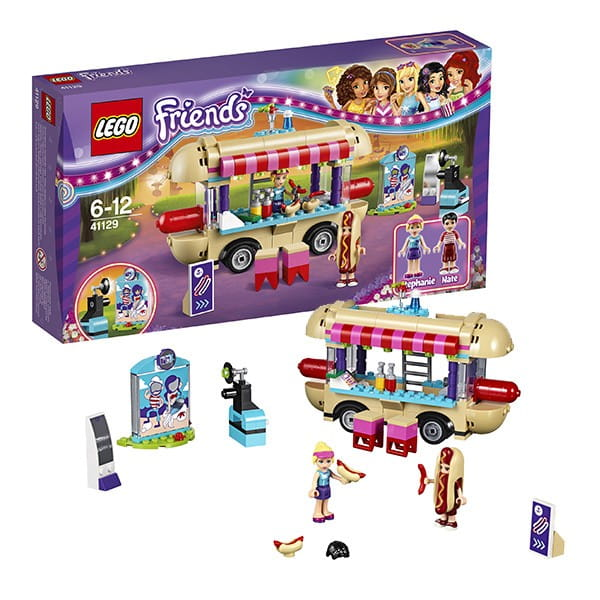 Конструктор Lego 41129X Friends Лего Подружки Фургон с хот-догами