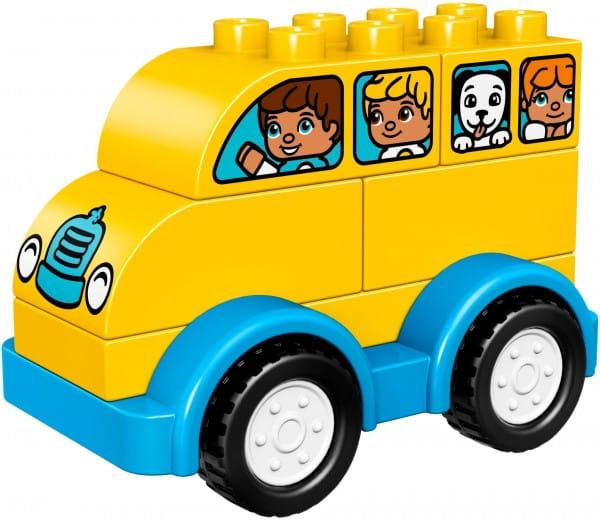 Конструктор Lego Duplo Лего Дупло Мой первый автобус - желтый