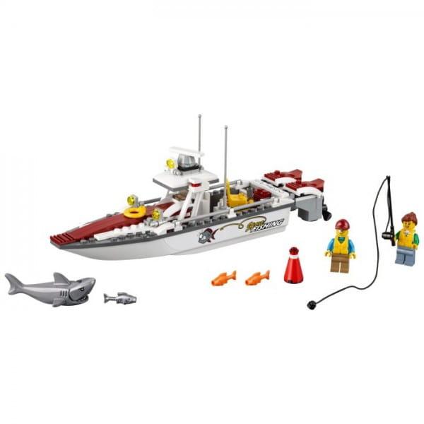 Конструктор Lego City Лего Город Рыболовный катер
