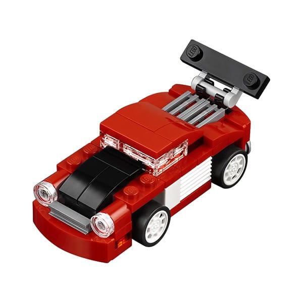 Конструктор Lego Creator Лего Криэйтор Красная гоночная машина