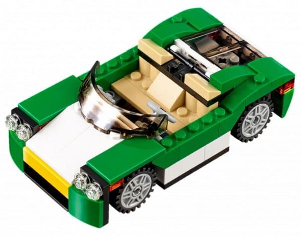 Конструктор Lego Creator Лего Криэйтор Зеленый кабриолет