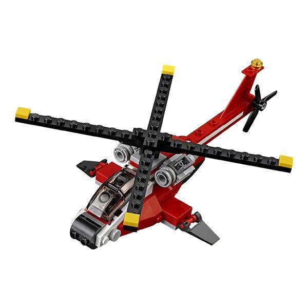 Конструктор Lego Creator Лего Криэйтор Красный вертолет