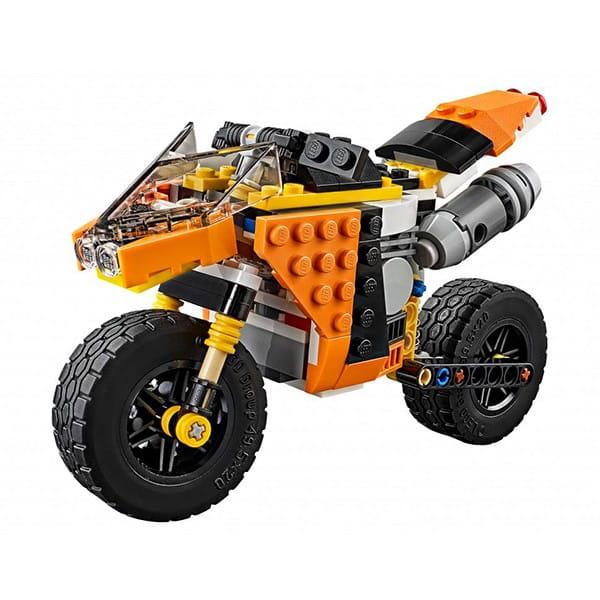 Конструктор Lego Creator Лего Криэйтор Желтый мотоцикл