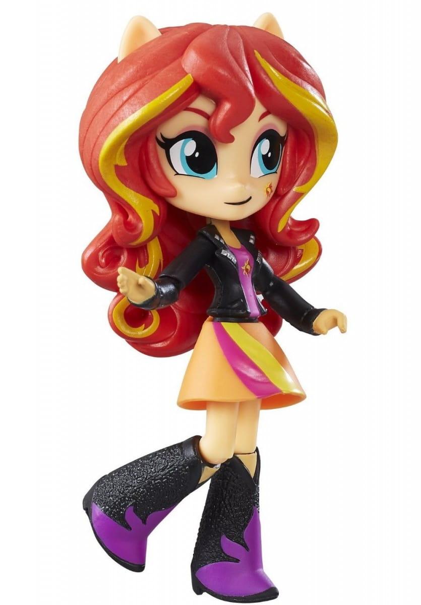 Кукла мини My Little Pony Equestria Girls Сансет Шиммер - 12 см (Hasbro)