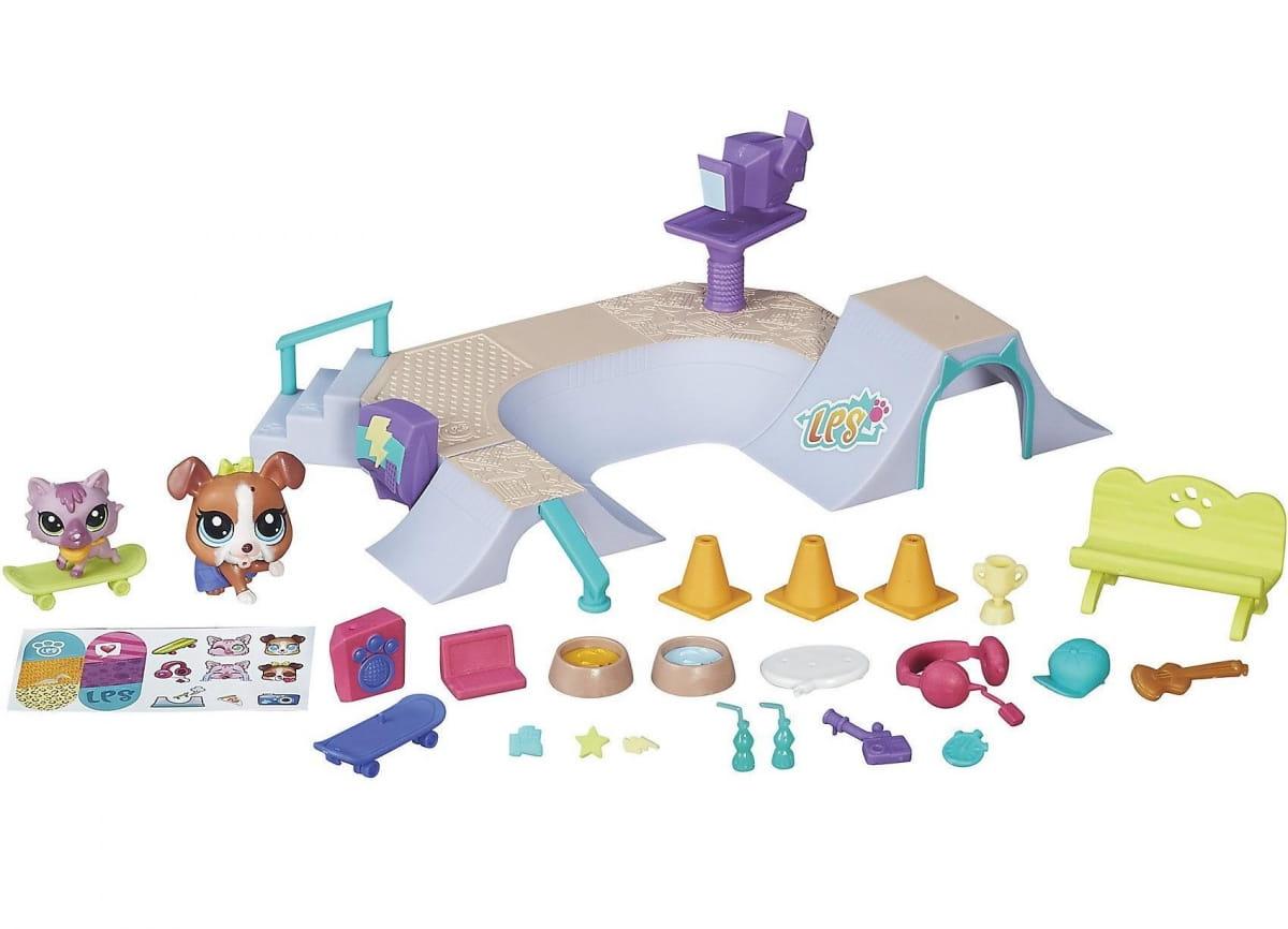 Игровой набор Littlest Pet Shop Городские сценки (Hasbro)