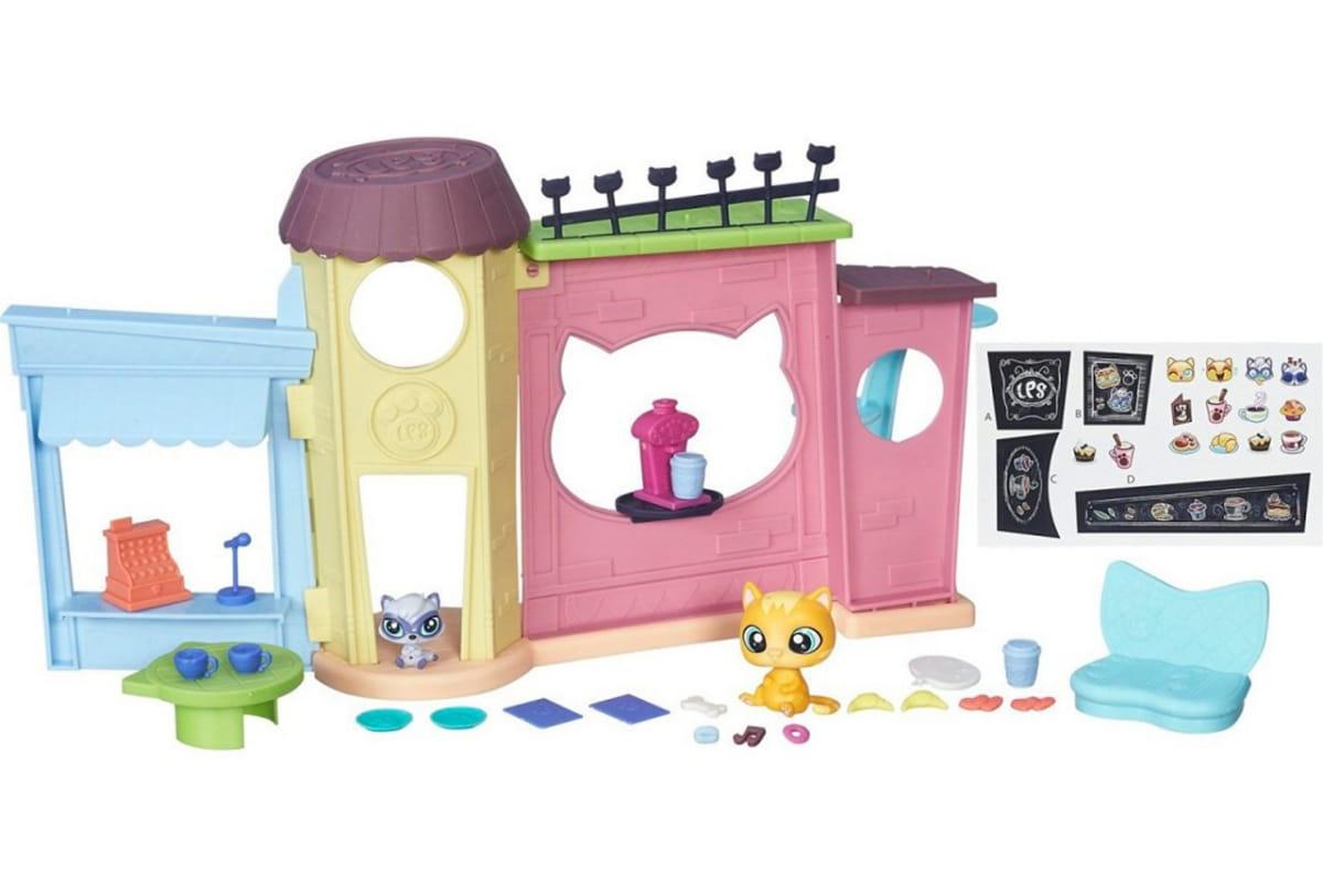 Игровой набор Littlest Pet Shop Кафе (Hasbro)