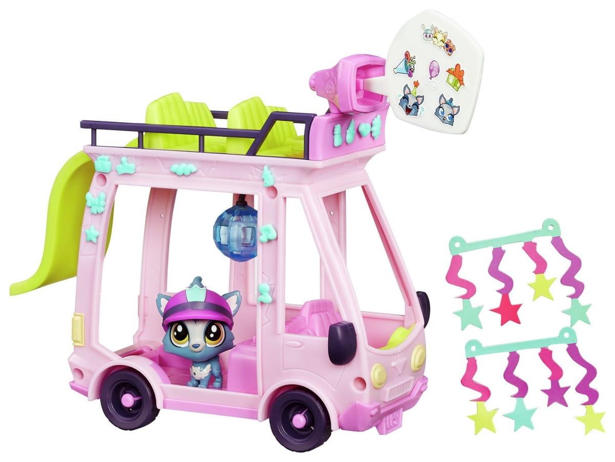 Игровой набор Littlest Pet Shop Автобус (Hasbro)