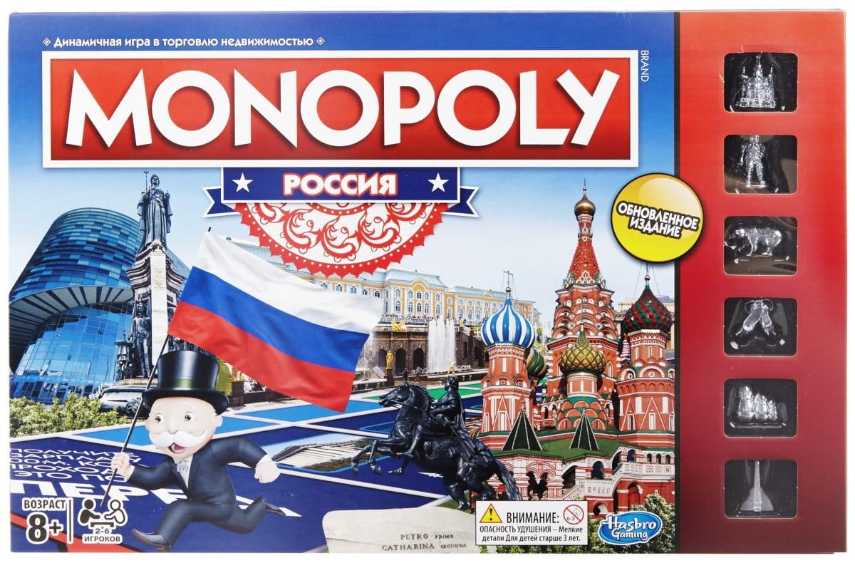 Настольная игра Hasbro Монополия Россия (новая уникальная версия)