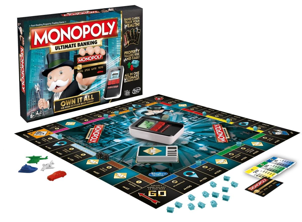 Настольная игра HASBRO Монополия с банковскими картами (обновленная) - Монополия