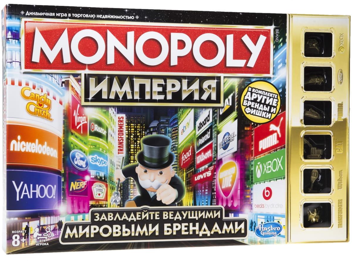 Настольная игра Hasbro Монополия Империя (обновленная) - Монополия