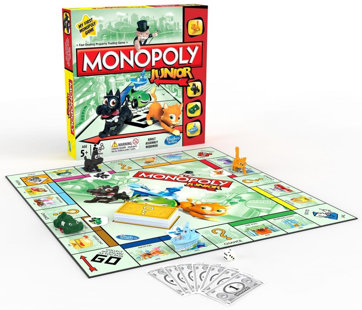 Настольная игра Hasbro Моя первая Монополия обновленная - Монополия