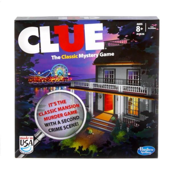Настольная игра Hasbro A5826H Cluedo Клуэдо (новая версия)