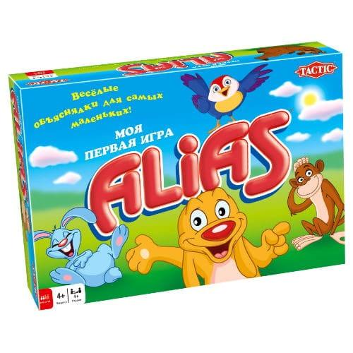 Купить Настольная игра Tactic Моя первая игра Alias в интернет магазине игрушек и детских товаров