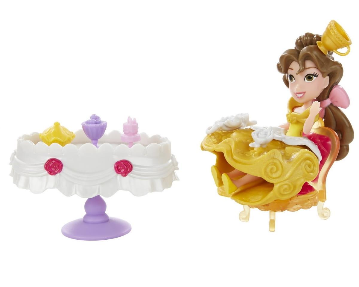 Игровой набор Disney Princess Мини кукла с аксессуарами - Белль (Hasbro)