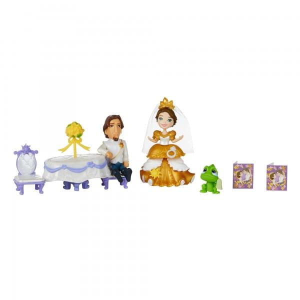 Игровой набор Disney Princess Сцена из фильма - Свадьба Рапунцель (Hasbro)