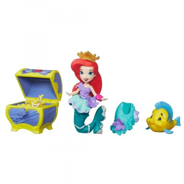 Игровой набор Disney Princess Мини-кукла Ариэль с аксессуарами (Hasbro)