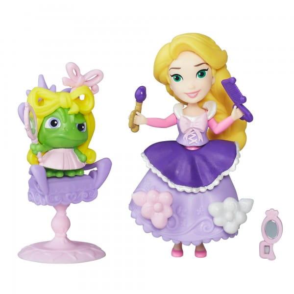 Игровой набор Disney Princess Мини-кукла Рапунцель с аксессуарами (Hasbro)