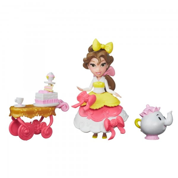 Игровой набор Disney Princess Мини-кукла Белль с аксессуарами (Hasbro)