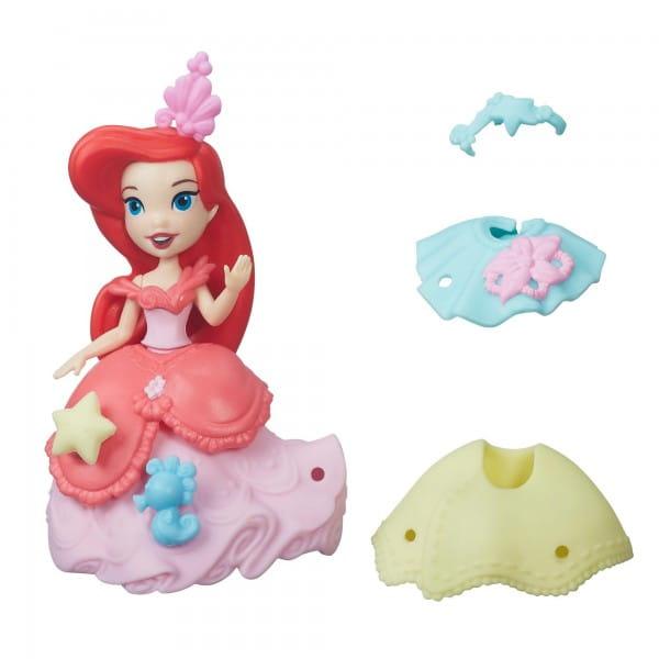 Игровой набор Disney Princess Мини-кукла Ариэль с модными аксессуарами (Hasbro)