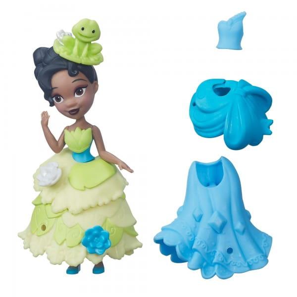 Игровой набор Disney Princess Мини-кукла Тиана с модными аксессуарами (Hasbro)