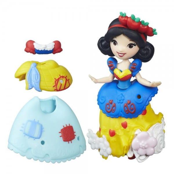 Игровой набор Disney Princess Мини-кукла Белоснежка с модными аксессуарами (Hasbro)