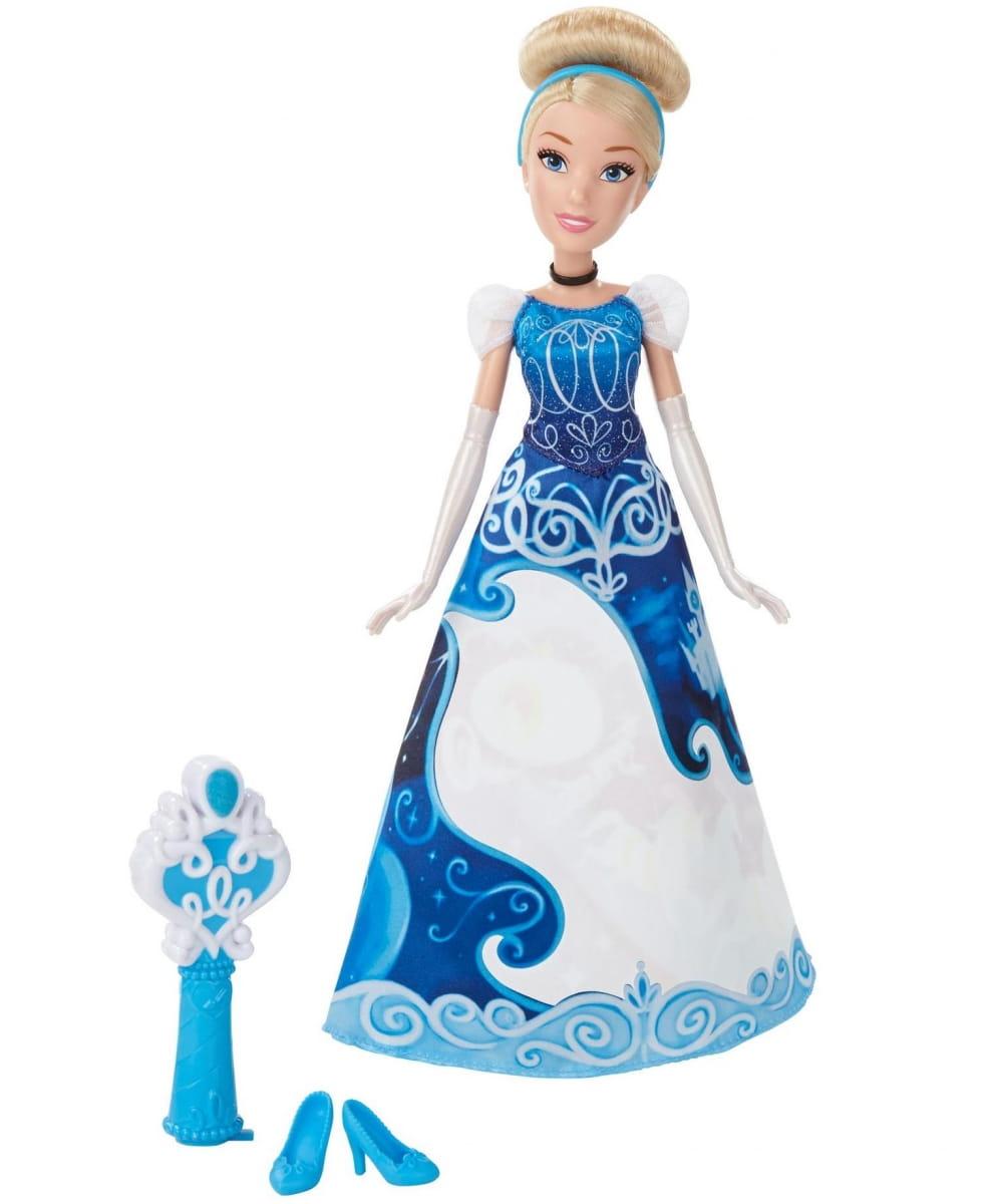 Модная кукла Disney Princess Принцесса Золушка в юбке с проявляющимся принтом (HASBRO)