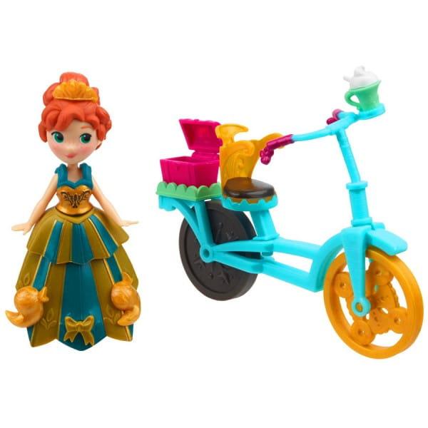 Игровой набор Disney Princess Холодное сердце с аксессуарами - Анна на велосипеде (HASBRO)