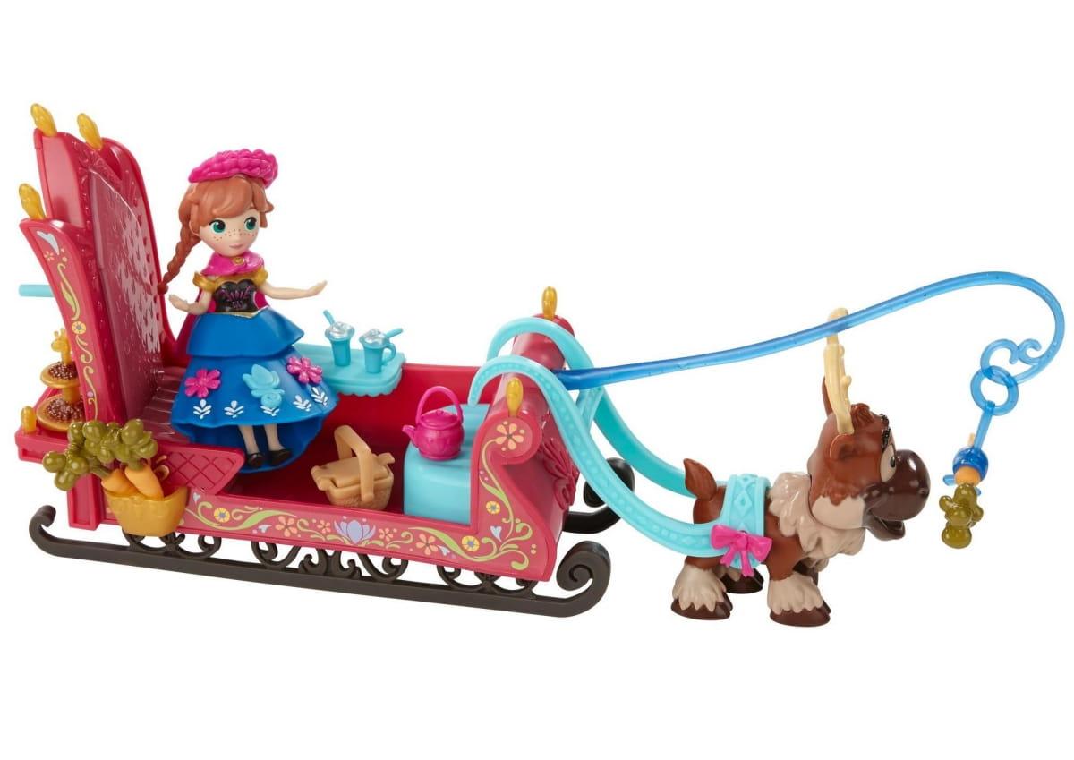 Игровой набор Disney Princess Холодное сердце Маленькие куклы с аксессуарами - Анна (Hasbro)